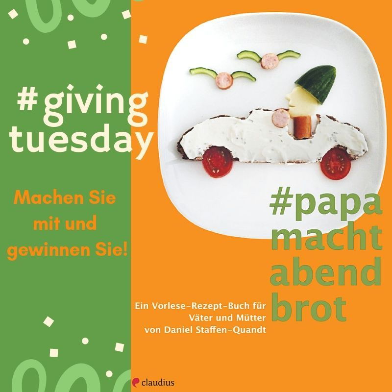 Givingtuesday Papa macht Abendbrot