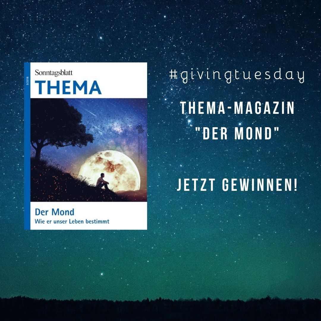 Givingtuesday Mond THEMA Heft