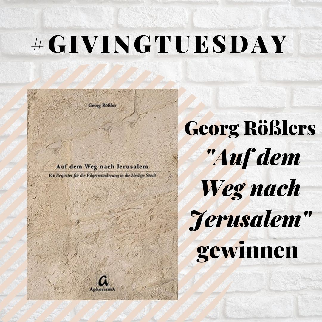 Givingtuesday Jerusalemweg