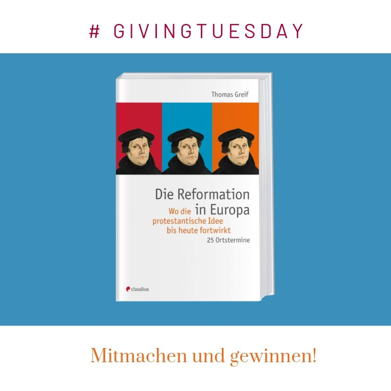 Givingtuesday Reformation in Europa