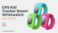 »GPS Kid Tracker Smart Wristwatch«.