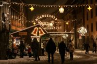 Winter Nürnberg Christkindlesmarkt