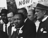 Martin Luther King beim Marsch auf Washington