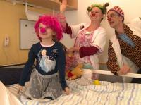 Klinikclowns in Aktion