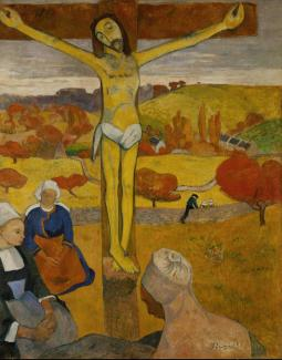 Paul Gauguin, Gelber Christus (Le Christ jaune), 1889, Albright-Knox-Gallery, Buffalo.
