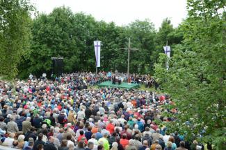 Hesselberg 2017, Gottesdienst, Bayerischer Kirchentag
