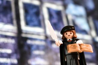 Martin Luther aus Playmobil