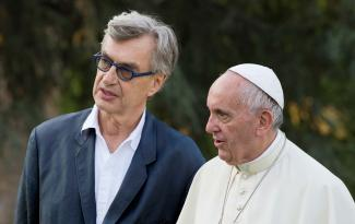 Protestant Wim Wenders, Papst Franziskus.