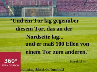 Biblische Spruche Fur Fussball Fans Sonntagsblatt 360