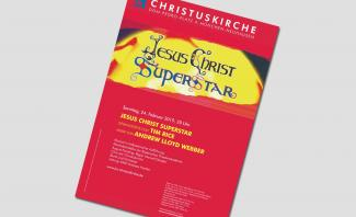 Plakat Musical Jesus Christ Superstar