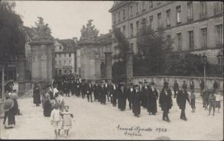 Generalsynode in Ansbach 1920