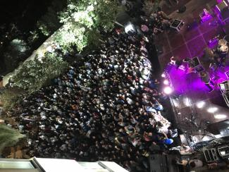 Party auf dem Oktoberfest in Taybeh