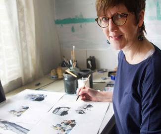 Susanne Kuhlendahl Illustratorin Bonhoeffer