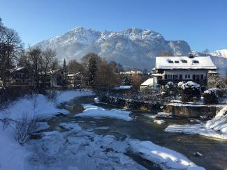 Garmisch-Partenkirchen Winter Symbol