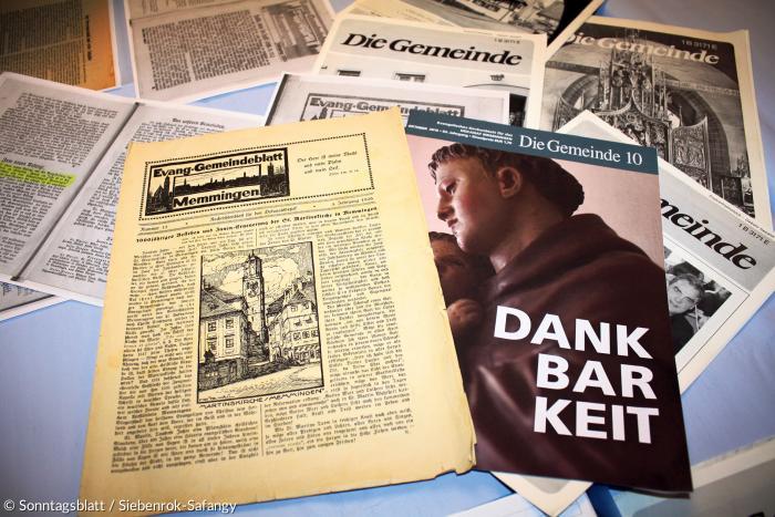 Dekanats Zeitschrift Die Gemeinde wird eingestellt Sonntagsblatt 360 Grad evangelisch