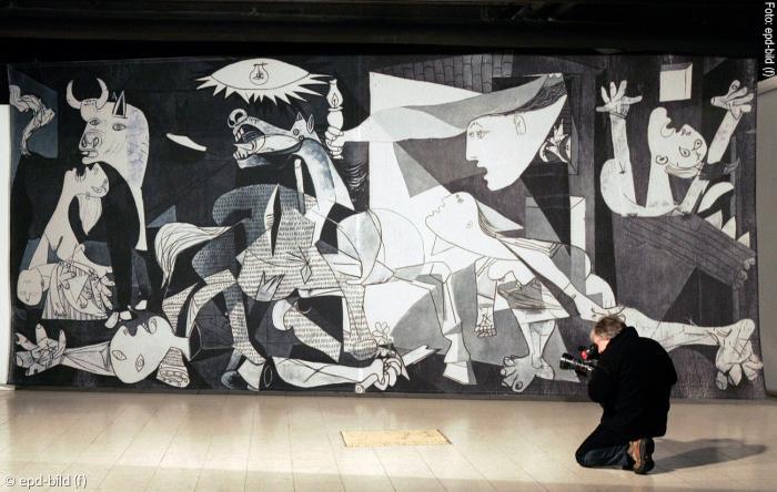 """Picassos """"Guernica"""" Vor 80 Jahren Erstmals Gezeigt"""