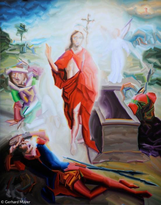 Isenheimer altar auferstehung