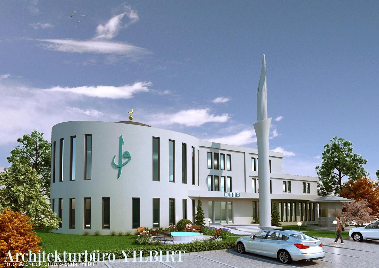 baldiger baubeginn der moschee in regensburg. Black Bedroom Furniture Sets. Home Design Ideas