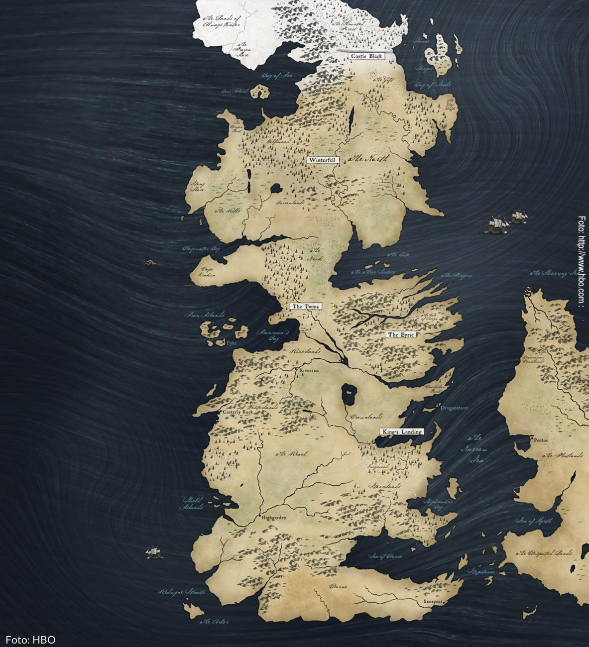 Westeros - Game of Thrones